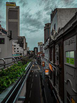 Town, Malaysia, Gotham, Architecture, City, Building