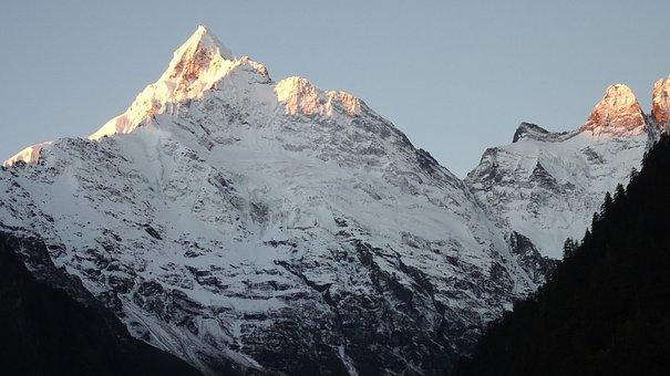 In Yunnan Province, Yubeng, Meili Snow Mountain