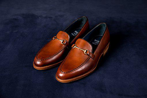 Loafers, Shoes, Leather, Brown Shoes, Pair