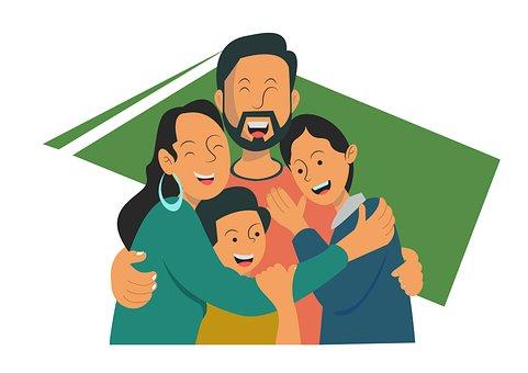 Family, Love, Happy, Parents, Children, Parenthood