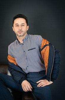 Man, Model, Portrait, Fashion, Men's Fashion, Masculine