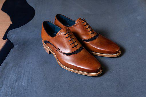 Oxford Shoes, Leather, Shoes, Brown Shoes, Pair