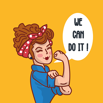 Women, Equality, Person, We Can Do It, War, Girl, Power
