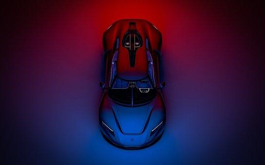Car, Luxury Car, Rear, Car Rear, Sports Car, Auto