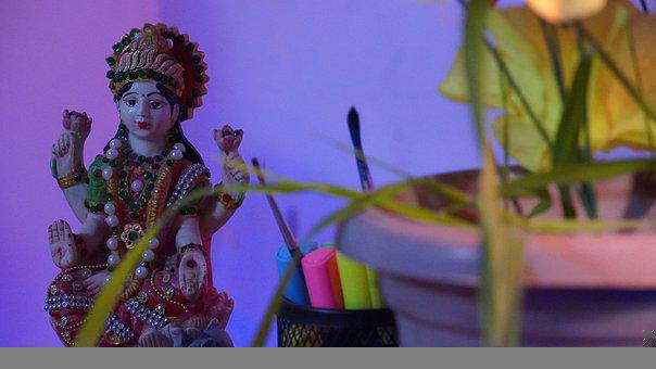 Statue, Goddess, Hindu, Artemis, Durga, Diana