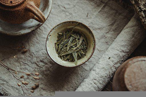 Green Tea, Lung Ching, Teacup, Cup, Tea, Long Jing
