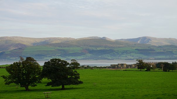 Landscape, Beaumaris, Wales, Anglesey, Scenic, Nature