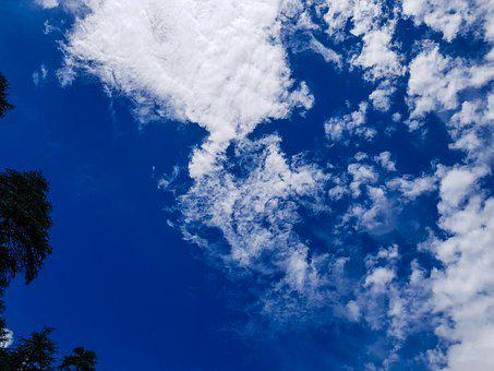 India, Bangladesh, Nature, Hills, Sky, Mountain Valley