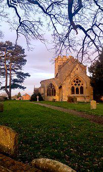 Church, England, Re, Religion, Building, Graveyard