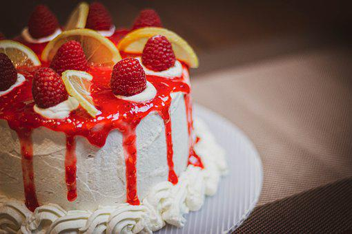 Cake, Dessert, Pastry, Food, Snack, Baked, Sweet, Tasty