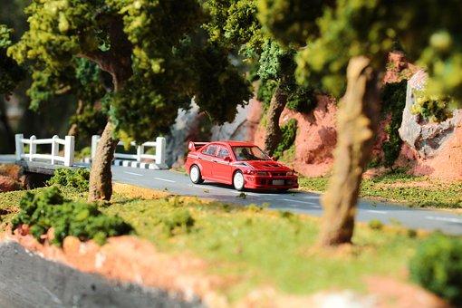 Model Car, Road, Miniature, Car, Vehicle, Auto