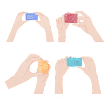 Hand Signal, Camera, Cartoon, Photograph, Photography