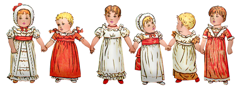Little Girls, Children, Vintage, Victorian, Kids, Young