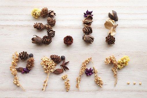 Pine Cones, Dried Flowers, Memorial