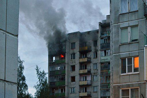 Russia, Stove, The Village, Fire, House, Building
