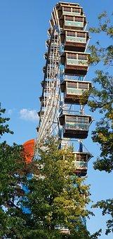 Ferris Wheel, Folk Festival, Sky, Fun, Blue