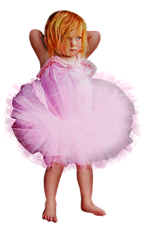 Little Girl, Ballerina, Cute, Mad, Tutu, Ballet, Girl