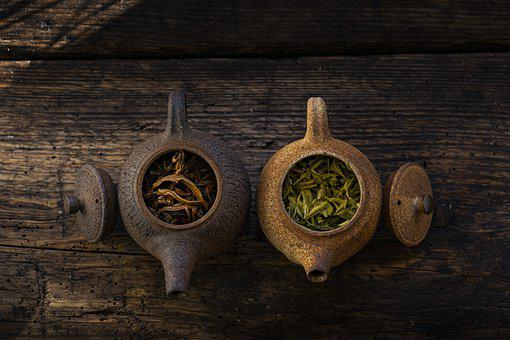 Teapots, Tea, Tea Leaf, Green Tea, Caffeine, Pottery