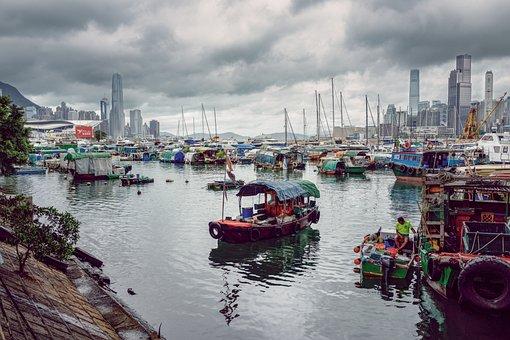 Hong Kong, Hong Kong Island, Victoria Harbour