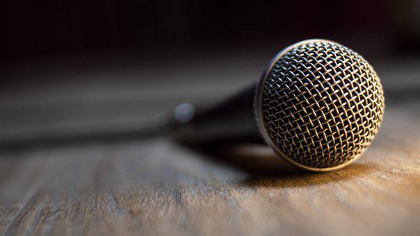 Microphone, Voice, Sing, Music