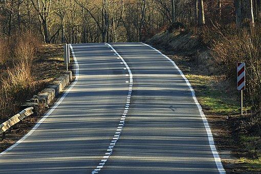 Road, Pavement, Trees, Asphalt, Route, Street, Sunlight