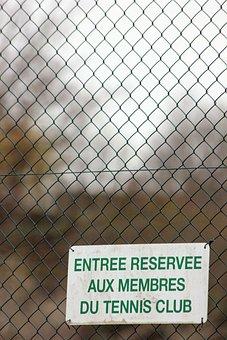 Fence, Tennis, Ban, Sport, Ball, Sky, Play, Games