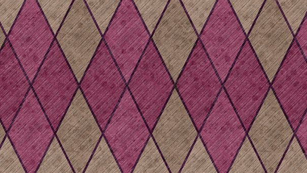 Background, Abstract, Geometric, Rhomboid, Checkered
