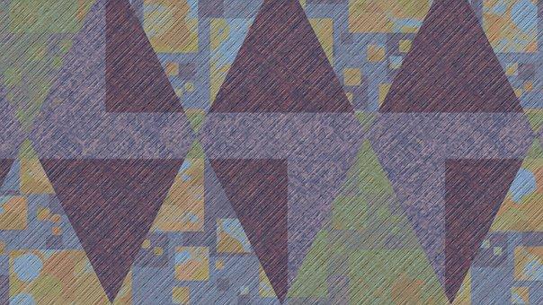 Background, Abstract, Geometric, Pastel, Rhomboid