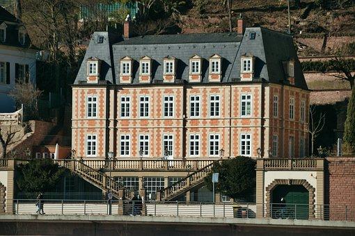 Art Nouveau, House, Building, Facade, Architecture