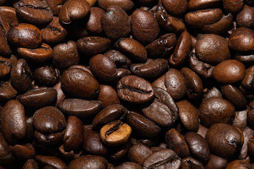 Coffee Beans, Coffee, Roasted, Caffeine, Aromatic