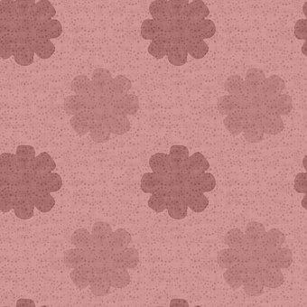 Background, Flowers, Pattern, Cute Wallpaper