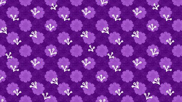 Background, Flowers, Pattern, Cute Wallpaper, Easter