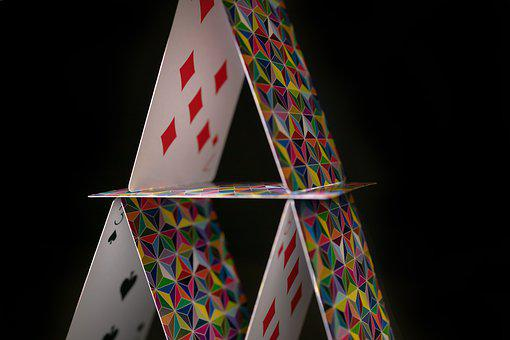 Cards, House Of Cards, Gamble, Playing Cards, Poker