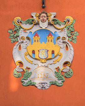Idstein, Hesse, Town Hall, Architecture, Colorful