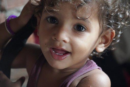 Kid, Child, Toddler, Baby, Joy, Fun, Playful, Indian