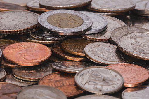 Coins, Money, Currency, Euro, Dollar, Investment