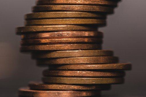 Coins, Money, Finance, Penny, Savings, Income