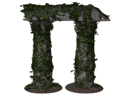 Stone, Pillar, Vine, Plinth, Structure, Ivy, Plant, Old