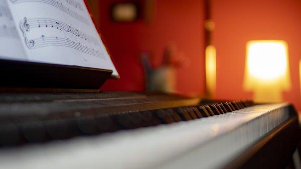 Music, Piano, Sing, Score