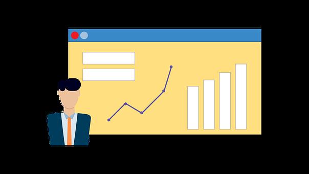 Manager, Online, Chart, Dashboard, Portal