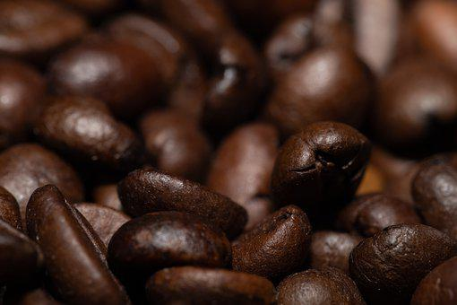 Coffee Beans, Coffee, Roasted, Caffeine, Aromatic, Food
