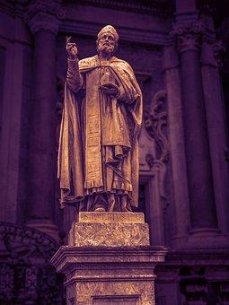 Statue, Sculpture, Religion, Stone Sculpture, Religious