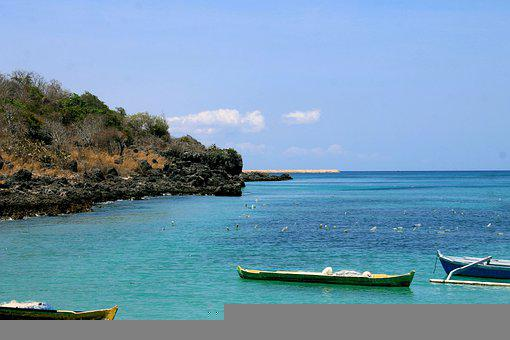 Beach, Sea, Boats, Rocks, Coast, Rocky Coast, Coastline