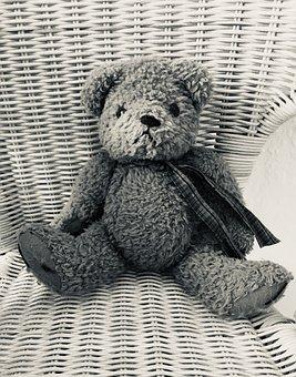 Teddy Bear, Toy, Sepia, Soft Toy, Plush Toy