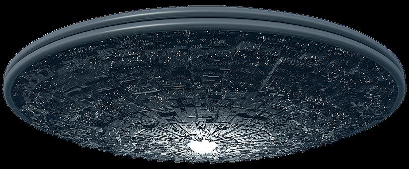 Spaceship, Ufo, Alien, Futuristic