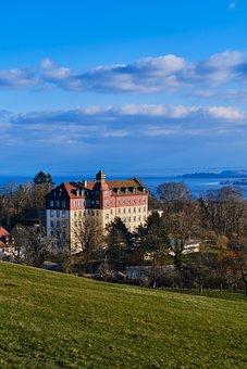 Spetzgart, Castle, Hill, Town, Building