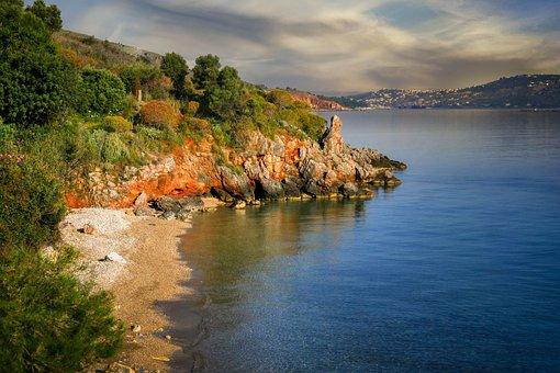 Beach, Sea, Coast, Coastline, Bank, Bay, Ocean, Water