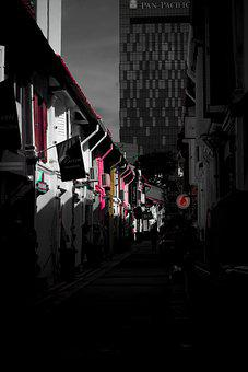 Alley, Old, Fashion, City, Architecture, Road, Facade