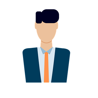 Man, Suit, Avatar, Profile, Person, Businessman, Staff
