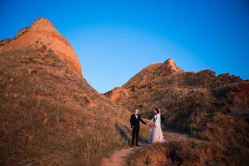 Wedding, Bride, Marriage, Woman, Couple, Love, Romantic